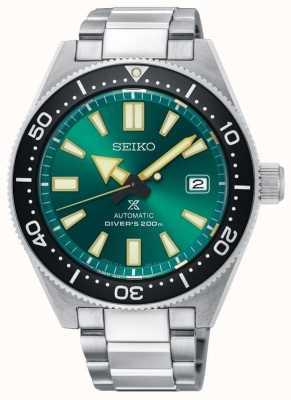 Seiko Prospex verde edição limitada mergulhadores 200m de aço automático SPB081J1