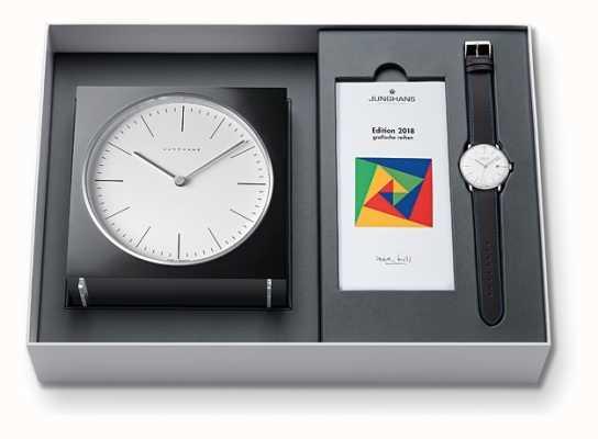 Junghans Max bill relógio e relógio definido edição limitada 2018 363/2816.00