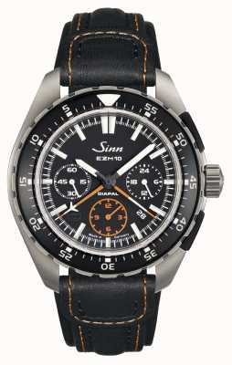 Sinn Mens ezm 10 testaf couro 950.011 LEATHER
