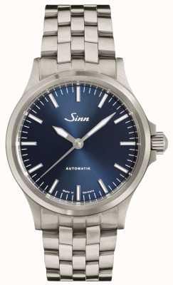 Sinn 556 ib pulseira de link fino de mostrador azul 556.0104 FINE BRACELET
