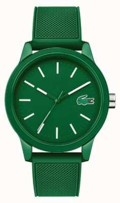Lacoste 12.12 pulseira de silicone verde 2010985