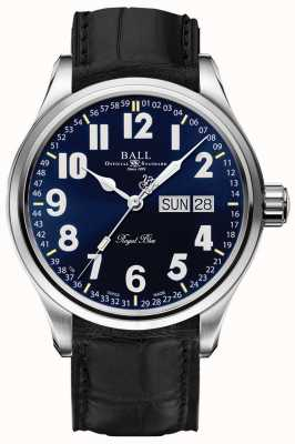 Ball Watch Company Trainmaster azul royal data e dia de exibição NM1058D-LL9J-BE