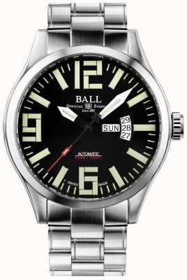 Ball Watch Company Engineer master ii aviator exibição automática de dia e data NM1080C-S14A-BK