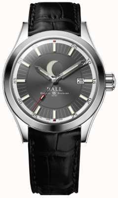 Ball Watch Company Engenheiro ii mostrador de data de fase de lua mostrador cinza NM2282C-LLJ-GY