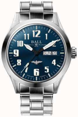 Ball Watch Company Engenheiro iii prata estrela azul mostrador pulseira de aço inoxidável NM2182C-S2J-BE