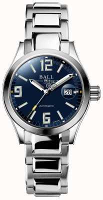 Ball Watch Company Exibição de data de discagem automática de legenda engenheiro iii azul NL1026C-S4A-BEGR