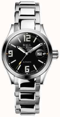 Ball Watch Company Exibição de data de discagem automática de legenda engenheiro iii preta NL1026C-S4A-BKGR