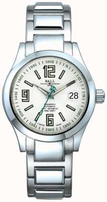 Ball Watch Company Engenheiro ii mostrador de data automático mostrador branco anti-magnético NM1020C-S4-WH