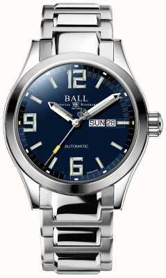 Ball Watch Company Lenda do engenheiro iii mostrador de dia e data automático azul NM2028C-S14A-BEGR
