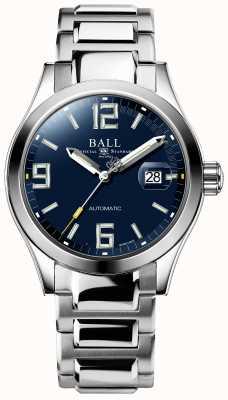 Ball Watch Company Lenda do engenheiro iii mostrador de dia e data automático azul NM2126C-S3A-BEGR