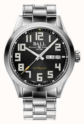 Ball Watch Company Engenheiro iii starlight black dial edição limitada inoxidável NM2182C-S9-BK1