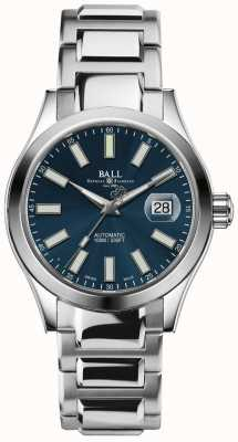 Ball Watch Company Engenheiro ii indicador de data de mostrador azul automático maravilhoso NM2026C-S6-BE