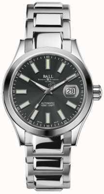 Ball Watch Company Engenheiro ii mostrador de data de discagem cinza automático maravilhoso NM2026C-S6-GY