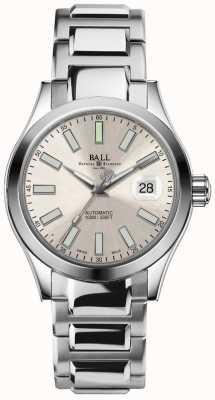 Ball Watch Company Exibição de data de discagem de champanhes automáticos de engenheiro ii marvelight NM2026C-S6-SL