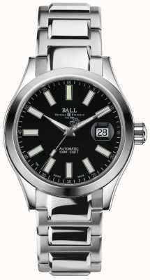 Ball Watch Company Engenheiro ii exposição de data de discagem preta automática maravilhosa NM2026C-S6J-BK