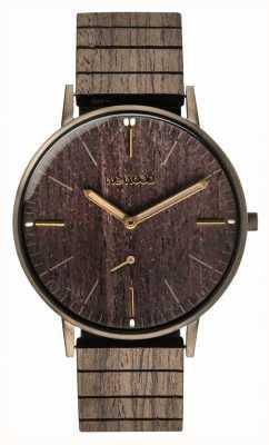 WeWood Albacora gun black oak | correia de madeira | 70370070000