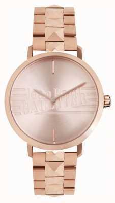 Jean Paul Gaultier Relógio feminino pulseira bad girl rose gold tone 8505701