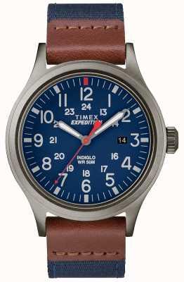 Timex Bússola de tecido azul TW4B14100D7PF