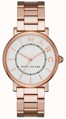Marc Jacobs Relógio clássico das mulheres marc jacobs rosa tom de ouro MJ3523
