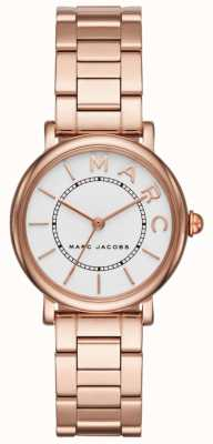 Marc Jacobs Relógio clássico das mulheres marc jacobs rosa tom de ouro MJ3527