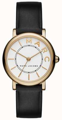 Marc Jacobs Womens marc jacobs clássico relógio de couro preto MJ1537