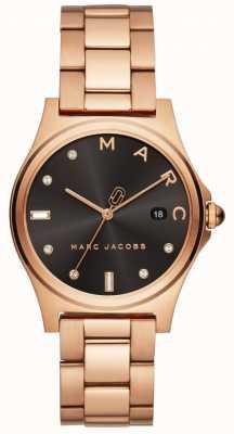 Marc Jacobs Relógio de henry feminino rosa tom de ouro MJ3600