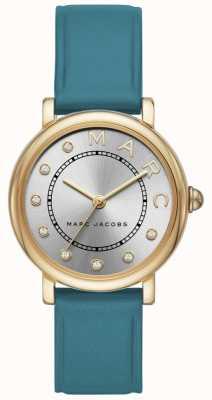 Marc Jacobs Womens marc jacobs relógio clássico couro de cerceta MJ1633