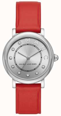 Marc Jacobs Womens marc jacobs classic watch couro vermelho MJ1632