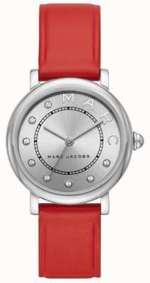 Marc Jacobs Relógio marc jacobs classic couro vermelho para mulher (sem caixa) MJ1632