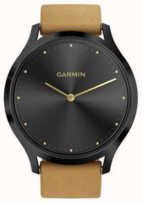 Garmin Vivomove hr rastreador de atividade tan tan (e pulseira de silicone) 010-01850-00