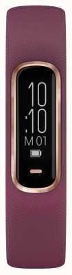 Garmin Vivosmart 4 hr ox tracker pequeno / médio roxo rosa caixa de ouro 010-01995-01
