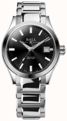 Ball Watch Company Engenheiro m marvelight 40mm mostrador preto NM2032C-S1C-BK