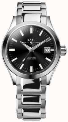 Ball Watch Company Engenheiro m Marvelight 40mm mostrador preto de aço inoxidável NM2032C-S1C-BK