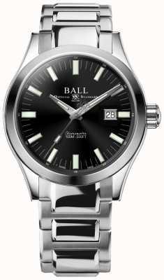 Ball Watch Company Engenheiro m marvelight 43mm mostrador preto NM2128C-S1C-BK