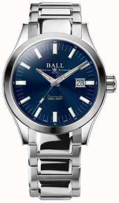 Ball Watch Company Engenheiro m marvelight 43mm mostrador azul NM2128C-S1C-BE