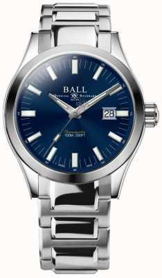 Ball Watch Company Engenheiro m marvelight 43mm mostrador azul NM2128C-S1C-BE