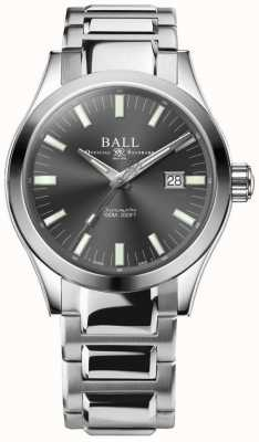 Ball Watch Company Engenheiro m marvelight 43 milímetros de discagem cinza NM2128C-S1C-GY