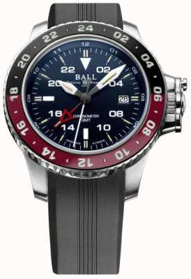Ball Watch Company Engenheiro de hidrocarboneto aerogmt ii 42mm mostrador azul DG2018C-P3C-BE