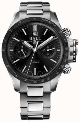 Ball Watch Company Engenheiro de hidrocarbono racer cronógrafo 42 milímetros mostrador preto CM2198C-S1CJ-BK