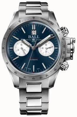 Ball Watch Company Engenheiro hidrocarboneto cronógrafo 42mm mostrador azul CM2198C-S2CJ-BE