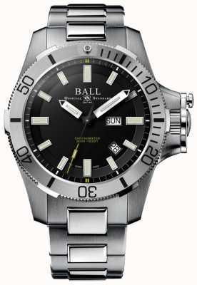 Ball Watch Company Engenheiro de hidrocarboneto de aço submarino 42 milímetros de aço inoxidável DM2276A-SCJ-BK