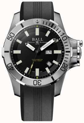 Ball Watch Company Cinta de borracha de guerra de submarino de 42 milímetros de engenheiro de hidrocarbonetos DM2276A-PCJ-BK