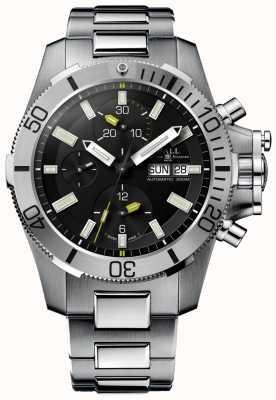 Ball Watch Company Cronógrafo de guerra submarino de 42 milímetros de hidrocarboneto engenheiro DC2276A-SJ-BK