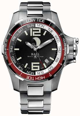 Ball Watch Company Relógio de maré de hidrocarbonetos de 42 mm DM3320C-SAJ-BK