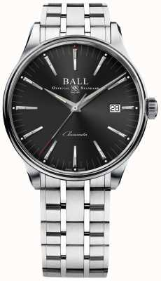 Ball Watch Company Trainmaster fabrica 80 horas de reserva de energia 40mm NM3280D-S1CJ-BK