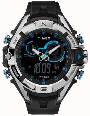 Timex Bracelete para homem 47 mm preta TW5M23000