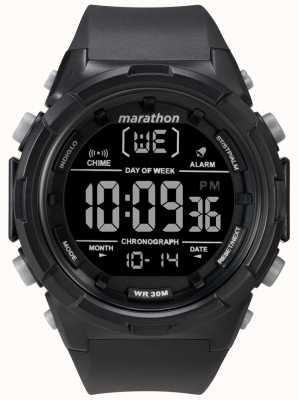 Timex Cinta preta para homem preto 50mm TW5M22300