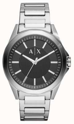 Armani Exchange Mens inoxidável roubar vestido relógio AX2618
