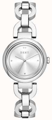 DKNY Ladies eastside assista roubar aço inoxidável NY2767