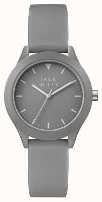 Jack Wills Cinto de silicone cinza de união das mulheres JW008GYGY